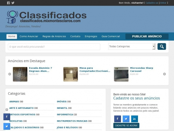 classificados.mixmontesclaros.com