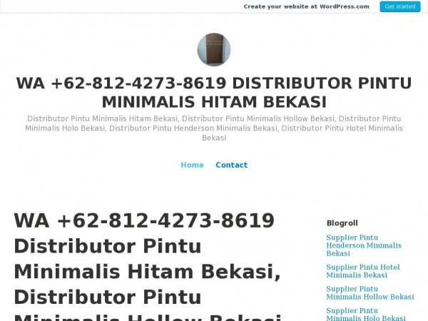 distributorpintuminimalishitambekasi.wordpress.com